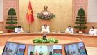 Thủ tướng Phạm Minh Chính chủ trì họp Ban Chỉ đạo quốc gia về phòng chống dịch. Ảnh: VIẾT CHUNG