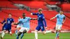 Chelsea và Man.City gần đây từng chơi ở bán kết FA Cup tại Wembley hôm 17-4. Ảnh: Getty Images