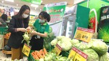 Nhiều sản phẩm nông sản của Hải Dương được bày bán tại hệ thống cửa hàng Co.opFood Hà Nội