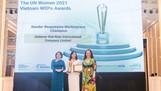 Unilever Việt Nam nhận giải thưởng 'Bình đẳng giới tại thị trường' tại Giải thưởng WEPs 2021