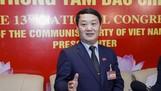 Đồng chí Hầu A Lềnh, Phó Chủ tịch kiêm Tổng thư ký Ủy ban Trung ương MTTQ Việt Nam. Ảnh: VIẾT CHUNG