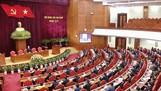 Quang cảnh Hội nghị lần thứ nhất Ban Chấp hành Trung ương Đảng khóa XIII