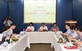 昨(8)日下午,政府辦公廳有關2017年政府總理與企業會議事宜舉行新聞發佈會。(圖源:chinhphu.vn)