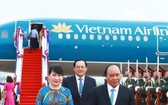 政府總理阮春福將率領越南代表團出席於本月11和12日在柬埔寨首都金邊舉行的關於東協世界經濟論壇。(圖源:越通社)