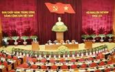 第十二屆黨中央執行委員會第五次會議昨(9)日進入第五天工作。(圖源:越通社)