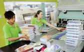 華人企業永進公司生產學生練習簿一瞥。