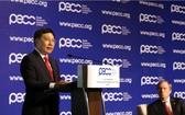 政府副總理范平明在PECC會議上致開幕詞。(圖源:VGP)