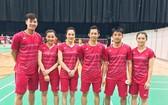 圖為越南羽毛球隊。(圖源:互聯網)