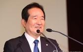 圖為韓國國會議長丁世均。(圖源:韓聯社)