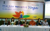 印度駐胡志明市總領事館與市越南-印度友好協會等單位配合昨(15)日上午在市各友好組織聯合會舉行記者招待會。(圖源:互聯網)