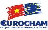 圖為越南歐洲商會標誌。(圖源:EuroCham)