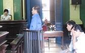 圖為各被告人在初審法庭聽判。(圖源:互聯網)