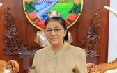 圖為老撾人民民主共和國國會主席巴妮‧雅陶都。(圖源:越通社)
