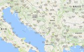 圖為巴爾干半島各國。(圖源:谷歌地圖)