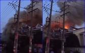 江蘇常熟市火警現場。(圖源:互聯網)