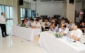 海洋海島專家在集訓班上就東海問題答記者問。(圖源:獨立)