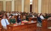 多位原國家領導人出席了第九軍區黨委、司令部舉行的各時期軍區黨委委員聚會。(圖源:懷清)