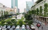越南體育代表團參加2017年馬來西亞第29屆東南亞運動會的出征儀式將於8月6日在阮惠街上舉行,所以是日從6至10時禁止各種交通工具在阮惠街上行駛。(圖源:互聯網)