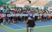 圖為2017年全國傑出青少年網球賽興盛盃開幕儀式一隅。