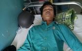 李阮玉孝正在醫院接受醫治。