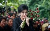 圖為英祿。泰軍方否認與英祿達成協定放其離境。(圖源:互聯網)