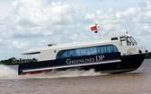 西貢-芹耶高速客船線下月開通。(示意圖源:互聯網)