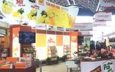 新華園食品有限公司的展位。