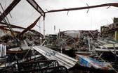 波多黎各的瓜亞馬市超市被颶風瑪麗亞摧毀。(圖源:互聯網)