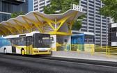 武文傑-梅志壽大道的快速巴士線(1號BRT線)車站設計圖。(圖源:市交通運輸廳)