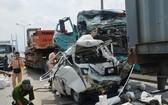 在富美橋區域發生的一起交通事故。