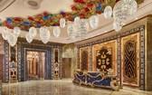 萬韻大酒店獲選為世界 5 強。圖為萬韻大酒店前廳。(圖源:The Reverie Saigon)