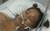 阮黃秋莊在大水鑊醫院的重症急救室內醫治昏迷。