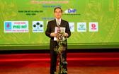 """中央經濟部長阮文平在第四次""""模範農產品""""推崇儀式上致詞。(圖源:國英)"""
