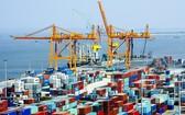 海防市的廷武港口作業繁忙。