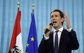 圖為奧地利共和國新任總理塞巴斯蒂安‧庫爾茨。(圖源:AP)
