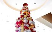 別具獨特的斗笠聖誕樹。