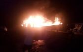 編號QNg 95409 TS漁船於本月1日晚上9時30分許發生火警,造成近30億元損失。(圖源:TC)