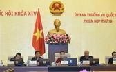 國會辦公廳最近表示,國會常務委員會第20次會議將於本月10至11日舉行。圖為國會常務委員會第19次會議一瞥。(示意圖源:Quochoi.vn)
