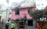 韓國首爾,首爾鐘路區孝悌洞一座旅館凌晨3時左右突發大火,已造成6人遇難。(圖源:韓聯社)