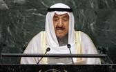 科威特國王謝赫薩巴赫‧艾哈邁德‧賈比爾‧薩巴赫。(圖源:聯合國)