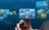 全國99.71%企業使用電子報稅服務,有3萬零811個人帳戶登記電子交易服務。(示意圖源:互聯網)