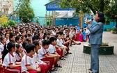 小學生防範被綁架座談會