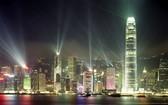香港美麗夜景。