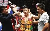 阮計仁首次奪得WBC泰拳王金腰帶。