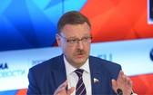 俄羅斯聯邦委員會(議會上院)國際事務委員會主席科薩切夫7日說,美國針對朝鮮的新制裁意在破壞朝鮮和韓國的和談。(圖源:Sputnik)