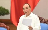 政府總理阮春福在籌備工作會議上發表指導意見。(圖源:越通社)