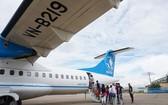 昨日上午Vasco已多增兩班機以便紓解在崑崙島崑山機場的堵塞情況。(圖源:Q.An)
