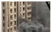 汽車爆炸現場,造成至少1人死亡、4人受傷。(圖源:互聯網)