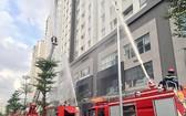 第二郡某公寓進行消防演習。 (圖源:PCCC)