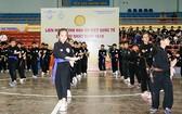 越南傳統武術表演。